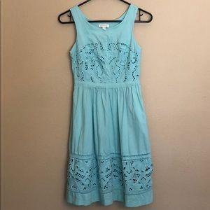 Meadow Rue Anthropologie Mint Green Dress 00P